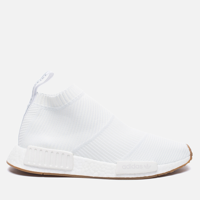 Кроссовки adidas Originals NMD City Sock 1 Primeknit White/White/Gum