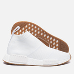Кроссовки adidas Originals NMD City Sock 1 Primeknit White/White/Gum фото- 1