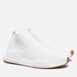 Кроссовки adidas Originals NMD City Sock 1 Primeknit White/White/Gum фото- 2