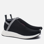 Кроссовки adidas Originals NMD CS2 Primeknit Core Black/Core Black/Shock Pink фото- 2
