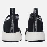 Кроссовки adidas Originals NMD CS2 Primeknit Core Black/Core Black/Shock Pink фото- 5