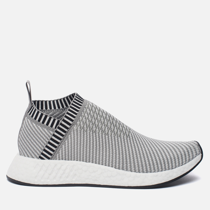 Кроссовки adidas Originals NMD CS2 Primeknit Solid Grey/White/Shock Pink
