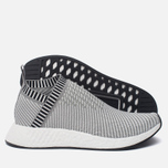 Кроссовки adidas Originals NMD CS2 Primeknit Solid Grey/White/Shock Pink фото- 1