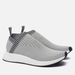 Кроссовки adidas Originals NMD CS2 Primeknit Solid Grey/White/Shock Pink фото- 2