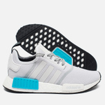 Мужские кроссовки adidas Originals NMD R1 Bright Cyan/White фото- 2