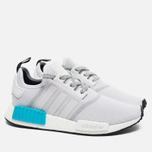 Мужские кроссовки adidas Originals NMD R1 Bright Cyan/White фото- 1