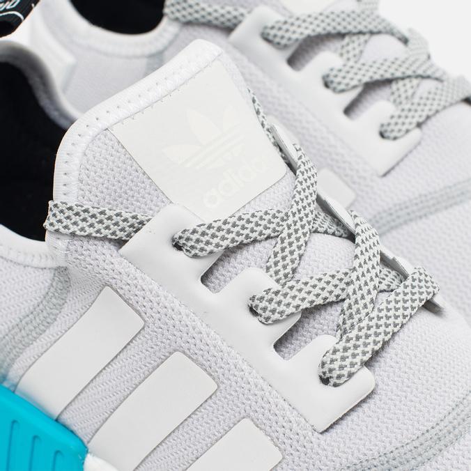 495e0697be34 Мужские кроссовки adidas Originals NMD R1 Bright Cyan White S31511