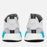 Мужские кроссовки adidas Originals NMD R1 Bright Cyan/White фото- 3