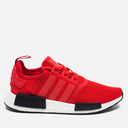 adidas Originals NMD R1 Men's Sneakers Core Red/White