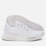 Кроссовки adidas Originals NMD R1 Japan Pack Triple White фото- 1