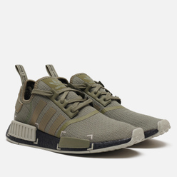 Мужские кроссовки adidas Originals NMD_R1 Legacy Green/Metal Grey/Core Black
