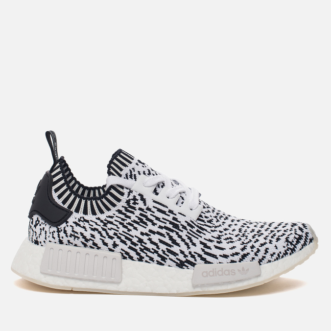 Кроссовки adidas Originals NMD R1 Primeknit Zebra Pack White/Black