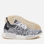 Кроссовки adidas Originals NMD R1 Primeknit Zebra Pack White/Black фото- 1