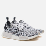 Кроссовки adidas Originals NMD R1 Primeknit Zebra Pack White/Black фото- 2