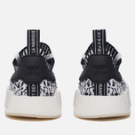 Кроссовки adidas Originals NMD R1 Primeknit Zebra Pack White/Black фото- 5
