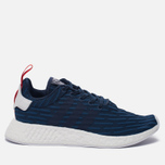 Кроссовки adidas Originals NMD R2 Collegiate Navy/Collegiate Navy/White фото- 0