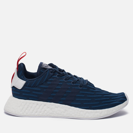 Кроссовки adidas Originals NMD R2 Collegiate Navy/Collegiate Navy/White