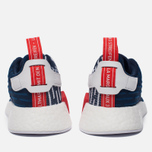 Кроссовки adidas Originals NMD R2 Collegiate Navy/Collegiate Navy/White фото- 5