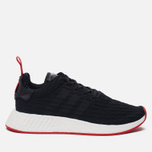 Кроссовки adidas Originals NMD R2 Primeknit Core Black/Core Black/Core Red фото- 0