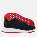 Кроссовки adidas Originals NMD R2 Primeknit Core Black/Core Black/Core Red фото- 1