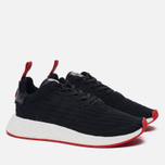 Кроссовки adidas Originals NMD R2 Primeknit Core Black/Core Black/Core Red фото- 2