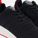 Кроссовки adidas Originals NMD R2 Primeknit Core Black/Core Black/Core Red фото- 3