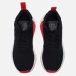 Кроссовки adidas Originals NMD R2 Primeknit Core Black/Core Black/Core Red фото- 4