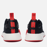 Кроссовки adidas Originals NMD R2 Primeknit Core Black/Core Black/Core Red фото- 5