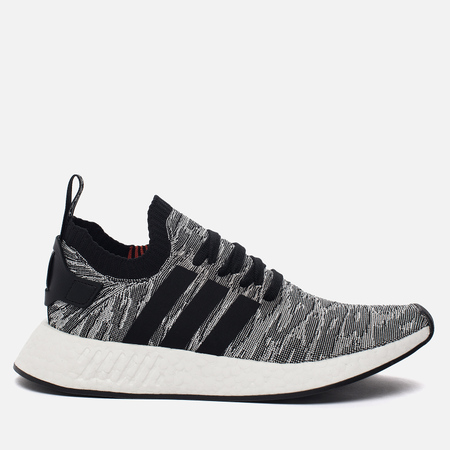 Мужские кроссовки adidas Originals NMD R2 Primeknit Core Black/Core Black/Running White