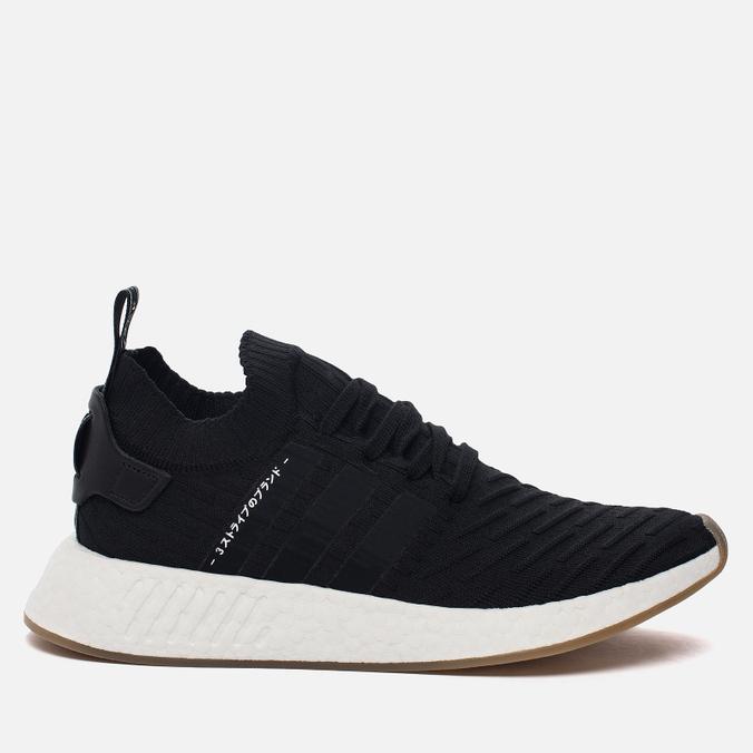 Мужские кроссовки adidas Originals NMD R2 Primeknit Core Black/Core Black/Utility Grey
