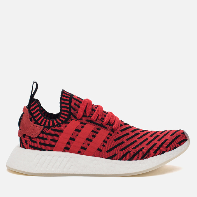 Мужские кроссовки adidas Originals NMD R2 Primeknit Core Red/Core Red/Running White