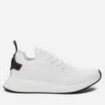 Мужские кроссовки adidas Originals NMD R2 Primeknit Running White/Core Black/Running White фото- 0