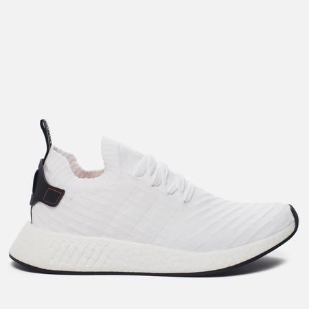 Мужские кроссовки adidas Originals NMD R2 Primeknit Running White/Core Black/Running White