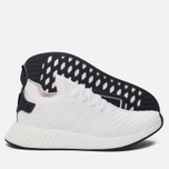 Мужские кроссовки adidas Originals NMD R2 Primeknit Running White/Core Black/Running White фото- 2