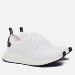 Мужские кроссовки adidas Originals NMD R2 Primeknit Running White/Core Black/Running White фото- 1