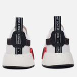 Мужские кроссовки adidas Originals NMD R2 Primeknit Running White/Core Black/Running White фото- 3