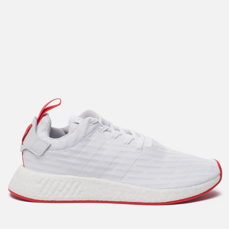 Кроссовки adidas Originals NMD R2 Primeknit White/White/Core Red