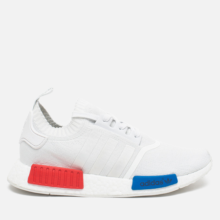 Мужские кроссовки adidas Originals NMD Runner Vintage White/Lush Red