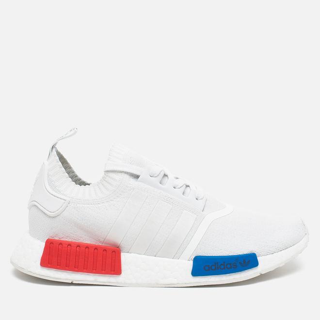 Мужские кроссовки adidas Originals NMD Runner Vintage White/Lush Red