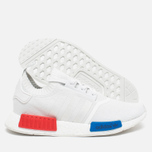 adidas Originals NMD Runner Vintage Men's Sneakers White/Lush Red photo- 2