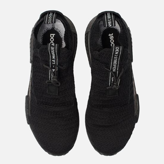 Мужские кроссовки adidas Originals NMD TS1 Primeknit Gore-Tex Core Black/Core Black/Core Black