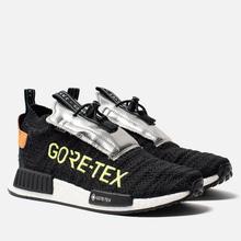 Мужские кроссовки adidas Originals NMD_TS1 Primeknit Gore-Tex Core Black/Core Black/Solar Yellow фото- 0