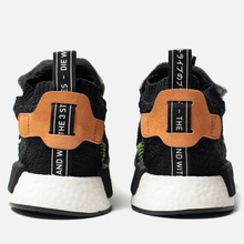 Мужские кроссовки adidas Originals NMD_TS1 Primeknit Gore-Tex Core Black/Core Black/Solar Yellow фото- 2