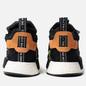 Мужские кроссовки adidas Originals NMD_TS1 Primeknit Gore-Tex Core Black/Core Black/Solar Yellow фото - 2