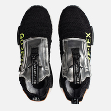 Мужские кроссовки adidas Originals NMD_TS1 Primeknit Gore-Tex Core Black/Core Black/Solar Yellow фото- 1