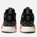 Мужские кроссовки adidas Originals NMD TS1 Primeknit Gore-Tex Core Black/Sesame/Chalk Coral фото- 3