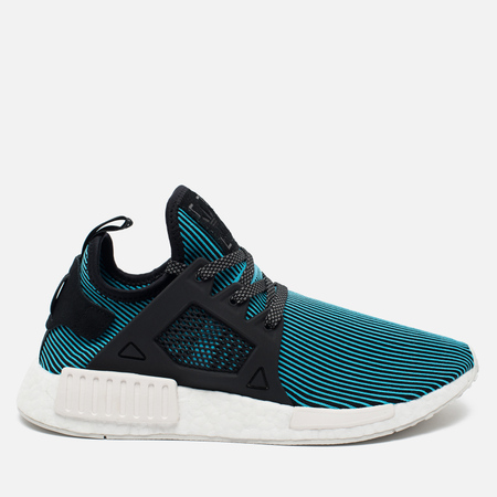 adidas Originals NMD XR1 Primeknit Men's Sneakers Bright Cyan/Vintage White