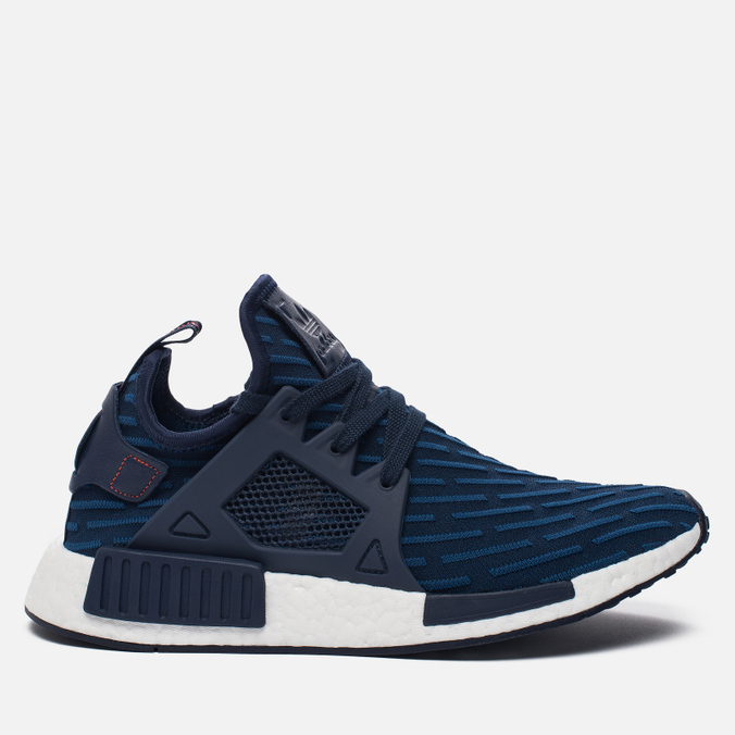 Кроссовки adidas Originals NMD XR1 Primeknit Collegiate Navy/Collegiate Navy/Core Red