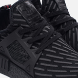 Кроссовки adidas Originals NMD XR1 Primeknit Triple Black фото- 3