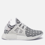 Кроссовки adidas Originals NMD XR1 Primeknit Zebra White/White/Core Red фото- 0